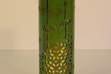 竹紋透花筒