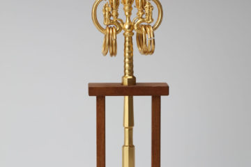 弘法大師請来 国宝金銅錫杖(複製)